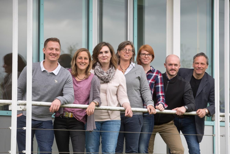 Gruppenfoto des Lehrstuhls für Sportpsychologie und Bewegungswissenschaften